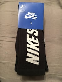 Black & white nike socks