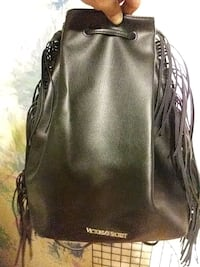 Leather victorias secret backpack with tassel Edmonton, T6L