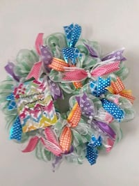 blue, pink, and yellow floral wreath Corpus Christi, 78418