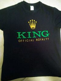 King Shirt with Crown All sizes Available Wichita, 67211