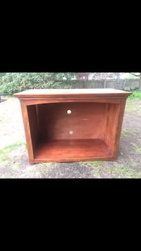 Tv stand / bookcase / hold your firewood indoors all wood