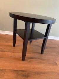 Side table - dark brown  Mississauga, L5C 3A7