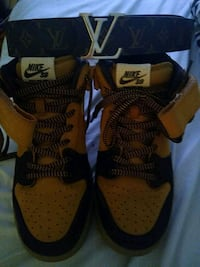 9.5 Nike SB Dunks w/LV Belt