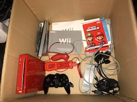 Limited Edition Mario Red Wii