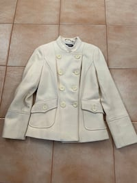 Guess Cream Cloth Jacket-Size Medium