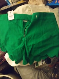 Womens JCREW SHORTS SIZE 8 Brand new with tags.