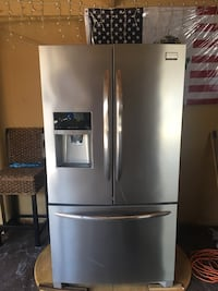 Stainless steel french door refrigerator South Gate, 90280