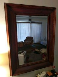"""37"""" x 49"""" (including frame) bevelled mirror.   National City, 91950"""