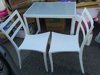 white wooden table with chairs Bakersfield, 93301
