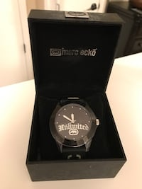 Very nice mark ecko watch with rubber wrist band.  Sayreville, 08859