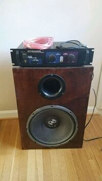 Vintage Home Theater Subwoofer Alexandria, 22314