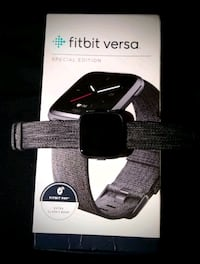 Fitbit versa! Slightly used excellent condition! 769 mi