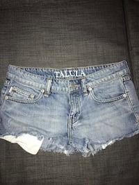 Talula denim shorts  Burnaby, V5H 0E9