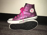 Converse All-Star Shoes Size 4 Youth (6 Women), Low Maintenance-Wipe Clean! Unique! Norman pick up only Norman, 73069
