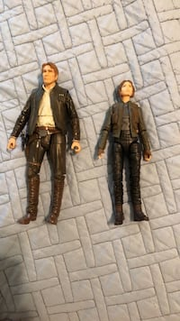 Star Wars Black series Han Solo And Jyn Erso