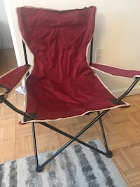 red and gray camping chair New York, 10044