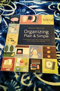 Organizing Plain & Simple by Donna Smallin Henderson, 89002