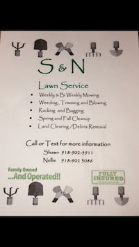 Lawn Cleaning & Mowing Service Sand Springs