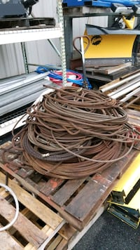 Assorted cables on pallet Ringwood, 07456
