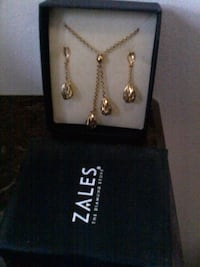 Beautiful 14 K Gold Necklace and Earrings set Chicago, 60655