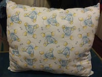 Handmade Blue & Yellow Elephant Pillow Council Bluffs