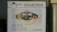 10 in. casserole with glass cover box Tampa, 33615