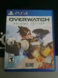 Overwatch Origins Edition PS4 game case Lakeshore, N0R 1A0