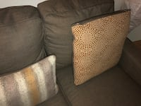 Grey sofa with pillows Sacramento, 95826