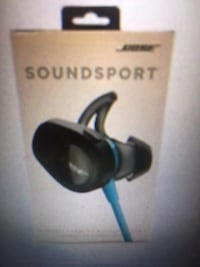 black and blue wireless headphones box Washington, 20006