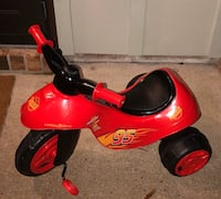 Motorized toddlers motorcycle