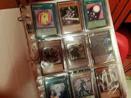 Yugioh collection binder (over 200 cards)