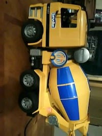 Bruder cement truck for a child sells for  89.00 on ebay