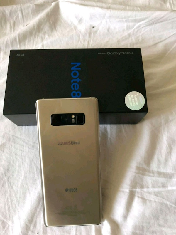 Samsung Galaxy note 8 like new