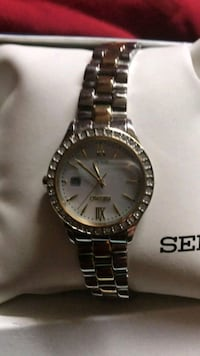Seiko watch mother of pearl face Eugene, 97402
