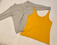 Sold as a pair - Reitmans cardigan and tank Calgary, T3P 0N3