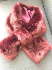 NEW wine colored faux fur neck wrap Ashburn, 20147