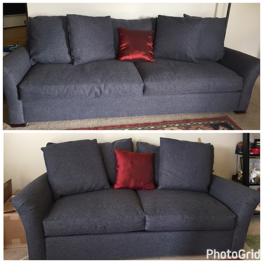 Sofa and couch set! 1 year old!