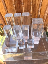 Acrylic/Lucite Pcs. (Great photo place-cards/photo holders) Hagerstown, 21742