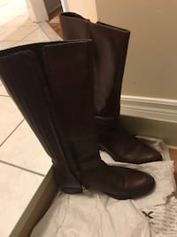 Brown leather Geox boots 7.5 size only $50 Mississauga, L5W 1S8