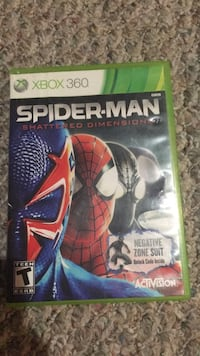 spider-man shattered dimensions for xbox 360