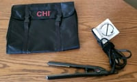 CHI FLAT IRON HAIR STRAIGHTENER W/ MULTI-POCKET AC Edison