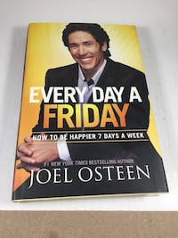 Joel Osteen Every Day a Friday Book Hardcover Lake Elsinore, 92532