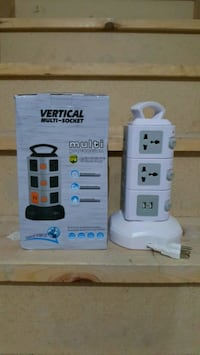 Brand new vertical power bar protector