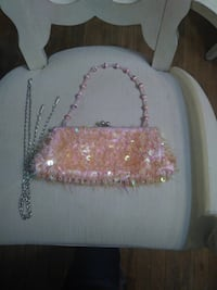 Pink Beaded Sequined Purse Parkville, 21234