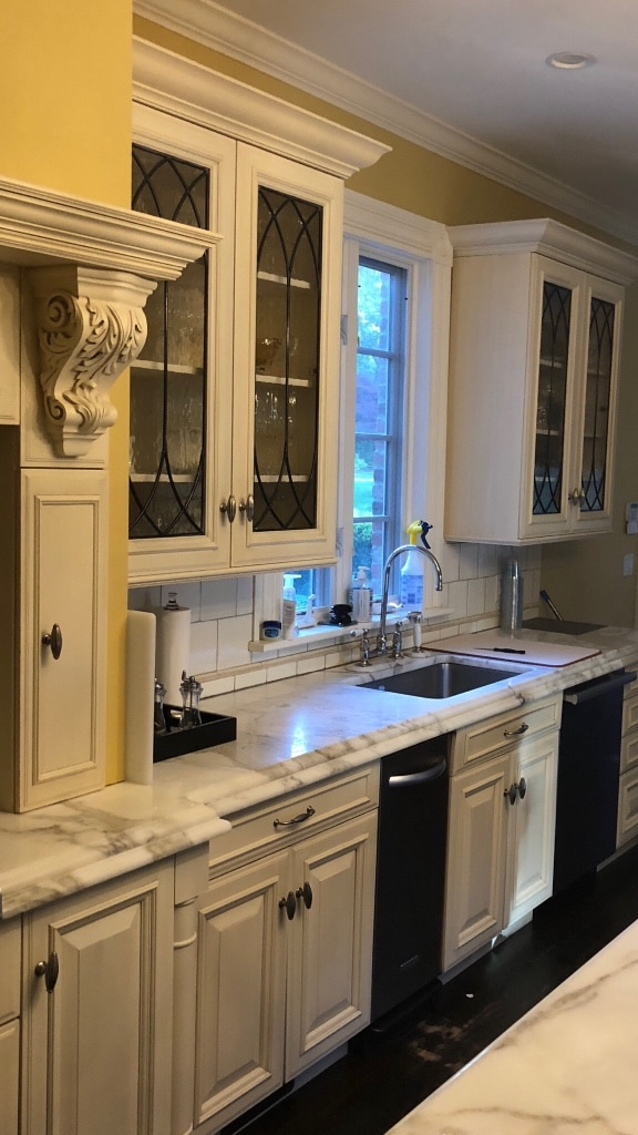 used kitchen cabinets only countertop and appliances not included rh gb letgo com