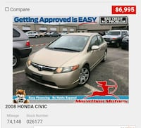 2008 Honda Civic Saint James, 11780