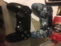PS4 with 2 controllers GTA ,battlefield , WWE