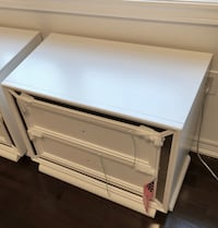 Brand New Night Stands from Arctic Ice collection (Leons). Brampton, L6V 0Y2