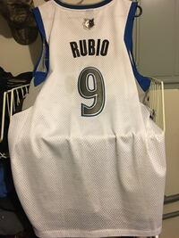 Authentic Rubio Timberwolf Jersey