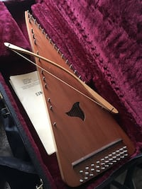 Bowed Psaltry with deluxe hard shell case Shrewsbury
